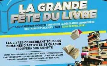 La foire du livre internationale de Douala 2018
