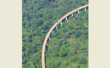 Le viaduc de BAKWA SUPE (Kumba-Mamfe) vu de haut  fait rêver ! (VIDEO)