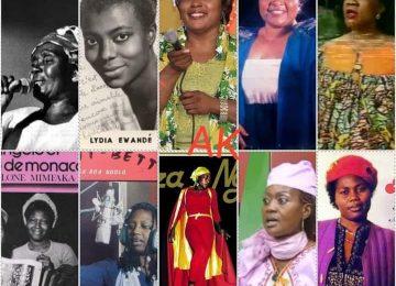 Mon 11 d'or féminin des meilleures artistes camerounaises de tous les temps
