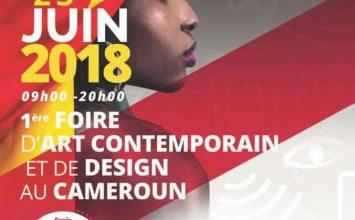 1ère foire  d'art contemporain  et de design au Cameroun