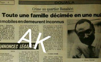 L'Affaire Mpondo : Le crime crapuleux qui a marqué l'Histoire du Cameroun