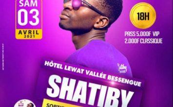 L'artiste Shatiby en Concert Live à l'Hôtel Lewat le 03 Avril 2021