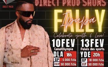 La Star Congolaise au Cameroun: Fally Ipupa Sera en Concert à Yaoundé le 13 Février 2021