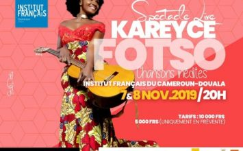 Spectacle Live KAREYCE FOTSO – Chansons inédites