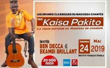 Les grands classiques du Makossa chantés par Kaissa Pakito