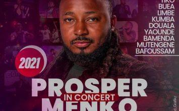 L'Artiste Gospel Prosper Menko en Concert Live au Charles Lwanga Hall à Buea le 14 Mars 2021