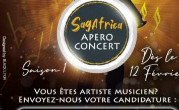 Appel à Candidature: Saison1 Apéro Concert Sagafrica à Akwa le 12 février 2021
