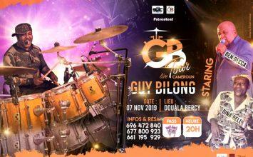 GUY BILONG EN TOURNÉE LIVE LE 07 NOVEMBRE 2019 GUY BILONG, BEN DECCA, DINA BELL Douala, DOUALA BERCY