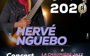 Hervé Nguebo à la Chaumière Jazz Club
