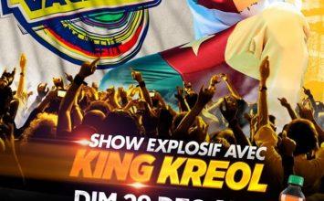KING KREOL EN SHOW EXPLOSIF A CHALLENGE VACANCE LE 29 DECEMBRE 2019