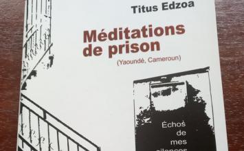 DÉDICACE: «méditations de prison» de Titus Edzoa